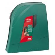 Ar akumulatoru un no elektrotīkla darbināms elektriskais gans AKO Duo Power X2500 (12V/230V)