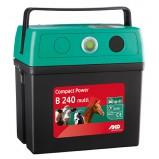 Ar akumulatoru un no elektrotīkla darbināms elektriskais gans AKO CompactPower B240-Multi (9V/12V/230V)