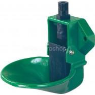 Plastmasas dzirdne Lister SB 12 KU ar plūsmas kontroles vārstu teļiem, aitām, kazām un suņiem.