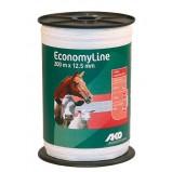 Elektriskā gana lente EconomyLine 12,5 mm/200 m