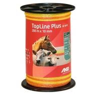 Elektriskā gana lente TopLine Plus, 10mm/200 m
